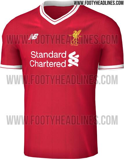125 Jahre Fc Liverpool Neues Trikot Der Saison 201718 Goalcom