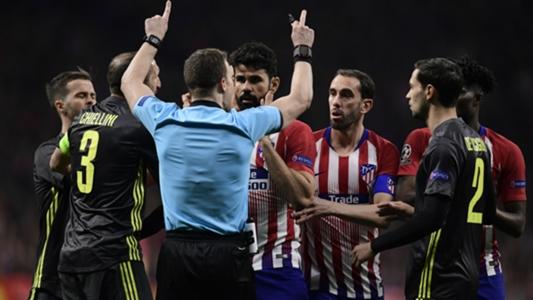 Atletico Madrid-Juventus, Diego Costa e Thomas ammoniti ...