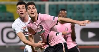 Stefano Moreo Michele Camporese Palermo Foggia Serie B