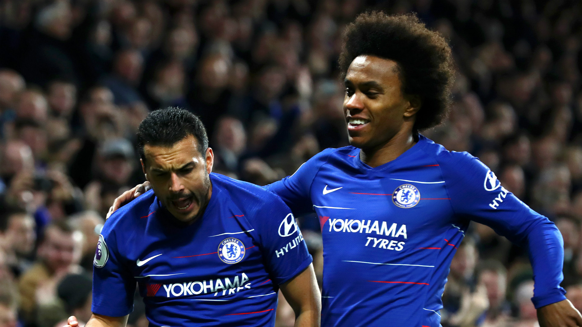 Pedro Willian Chelsea 2018-19