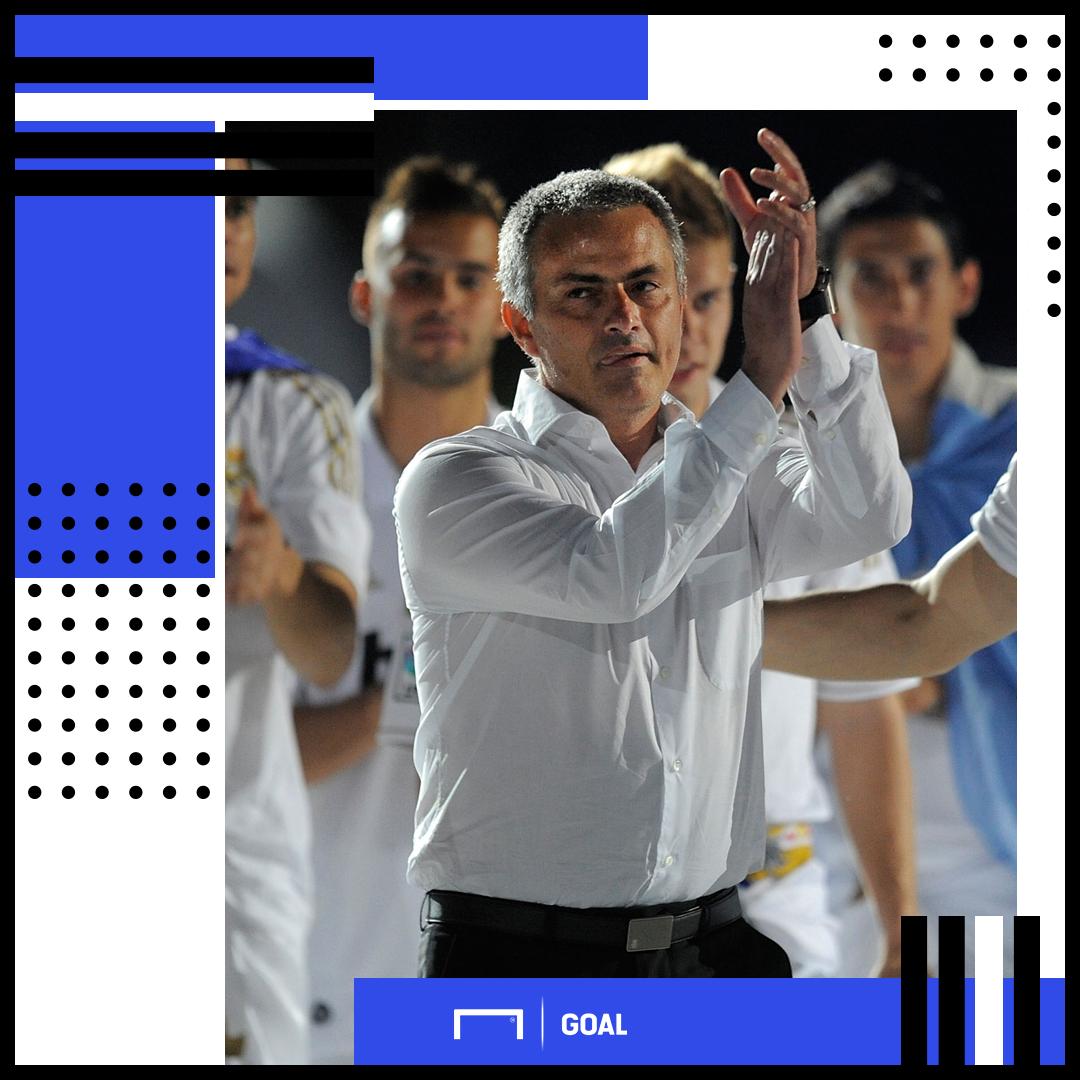 Jose Mourinho Real Madrid La Liga title
