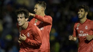 Alvaro Odriozola Real Madrid Melilla Copa del Rey 31102018