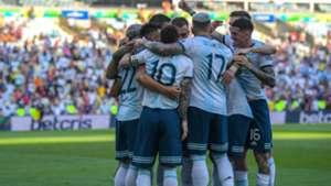 'festejo Argentina Venezuela Copa America 28062019