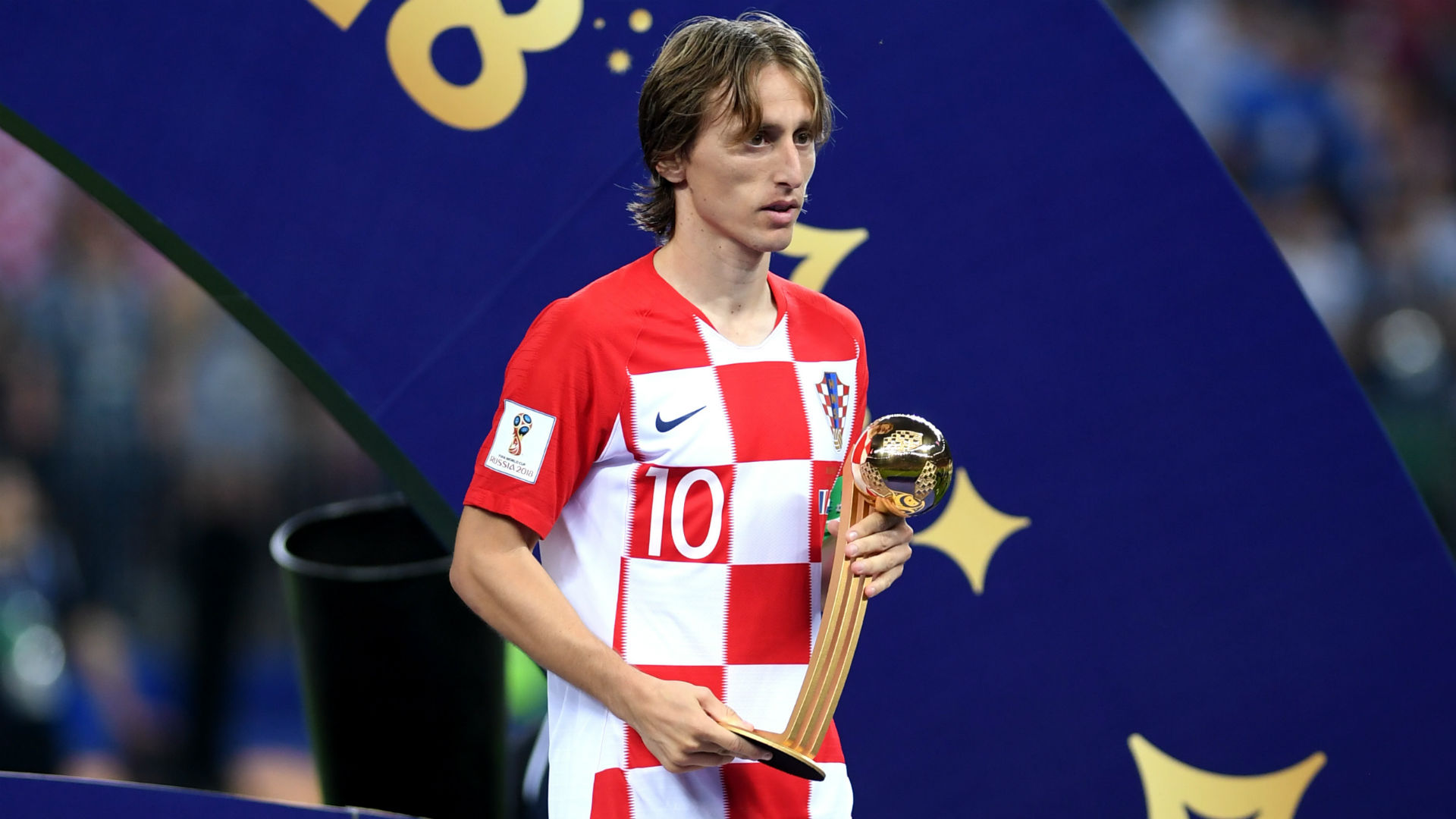Luka Modric Croatia France World Cup 2018 final