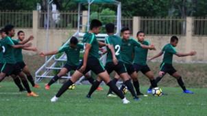 Latihan Indonesia U-16