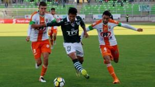 141118 Santiago Wanderers Cobresal Enzo Gutiérrez Flavio Rojas Juan José Contreras