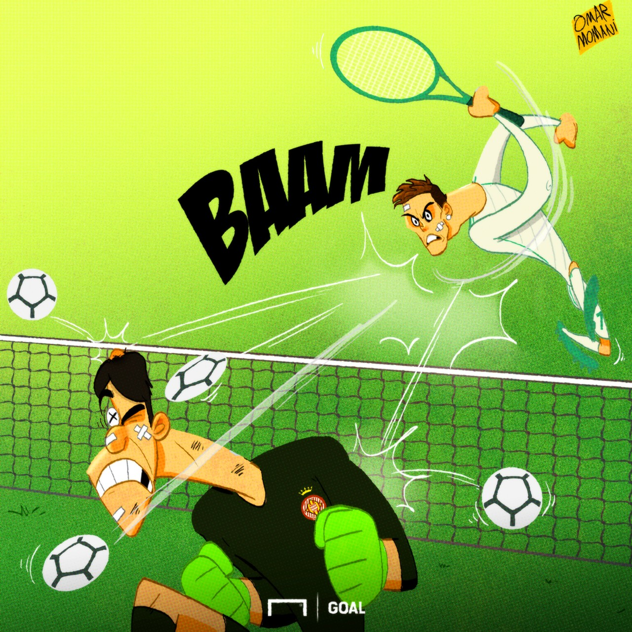 CARTOON: Anyone four tennis?