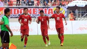 Selebrasi - Evan Dimas Darmono - Indonesia U-22
