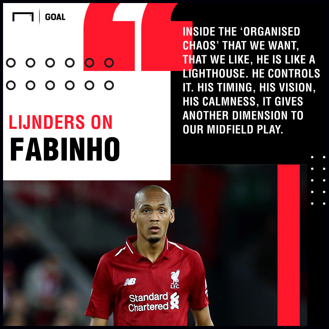 Pep Lijnders on Fabinho Liverpool 2018/19