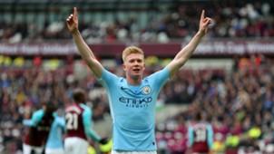 Kevin De Bruyne Manchester City 2018-04-29