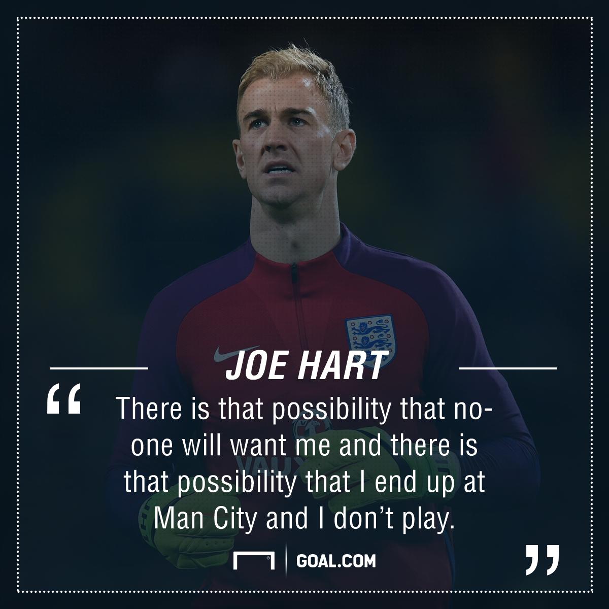 Joe Hart Manchester City future