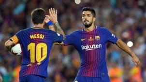 Lionel Messi Luis Suarez Barcelona
