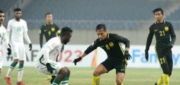 U23 Malaysia U23 Saudi Arabia VCK U23 châu Á 2018