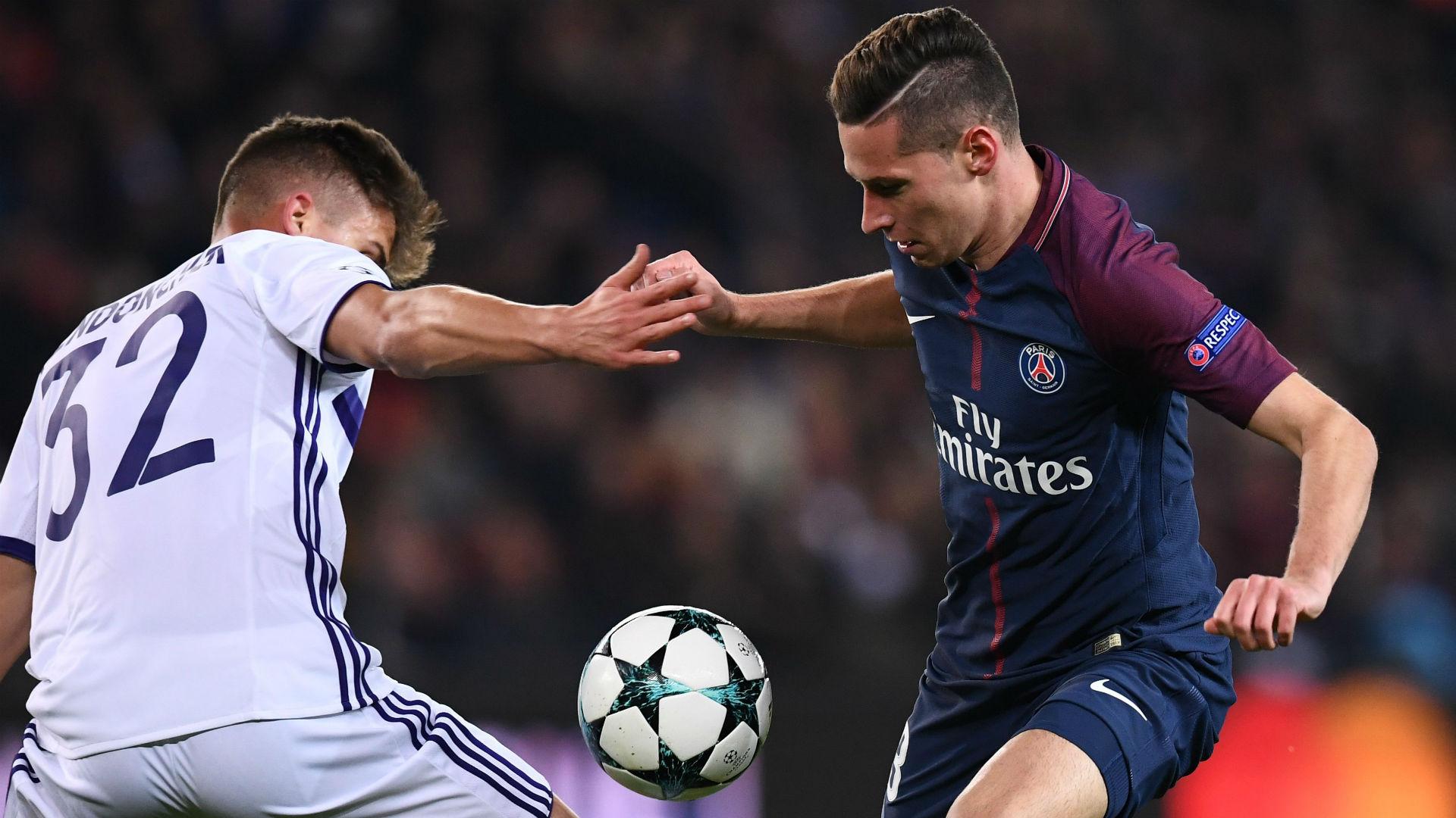 Julian Draxler PSG Anderlecht Champions League 31102017