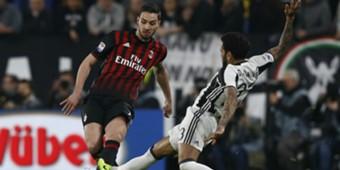 Dani Alves Mattia De Sciglio Juventus Milan