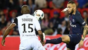 Layvin Kurzawa Jeremy Sorbon PSG Guingamp Ligue 1 09042017