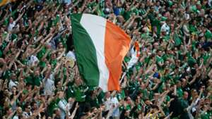 Republic of Ireland supporters and fans 13062015