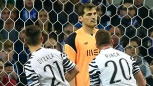 Dybala Casillas Porto Juventus
