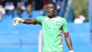 Harambee Stars goalkeeper Patrick Matasi.