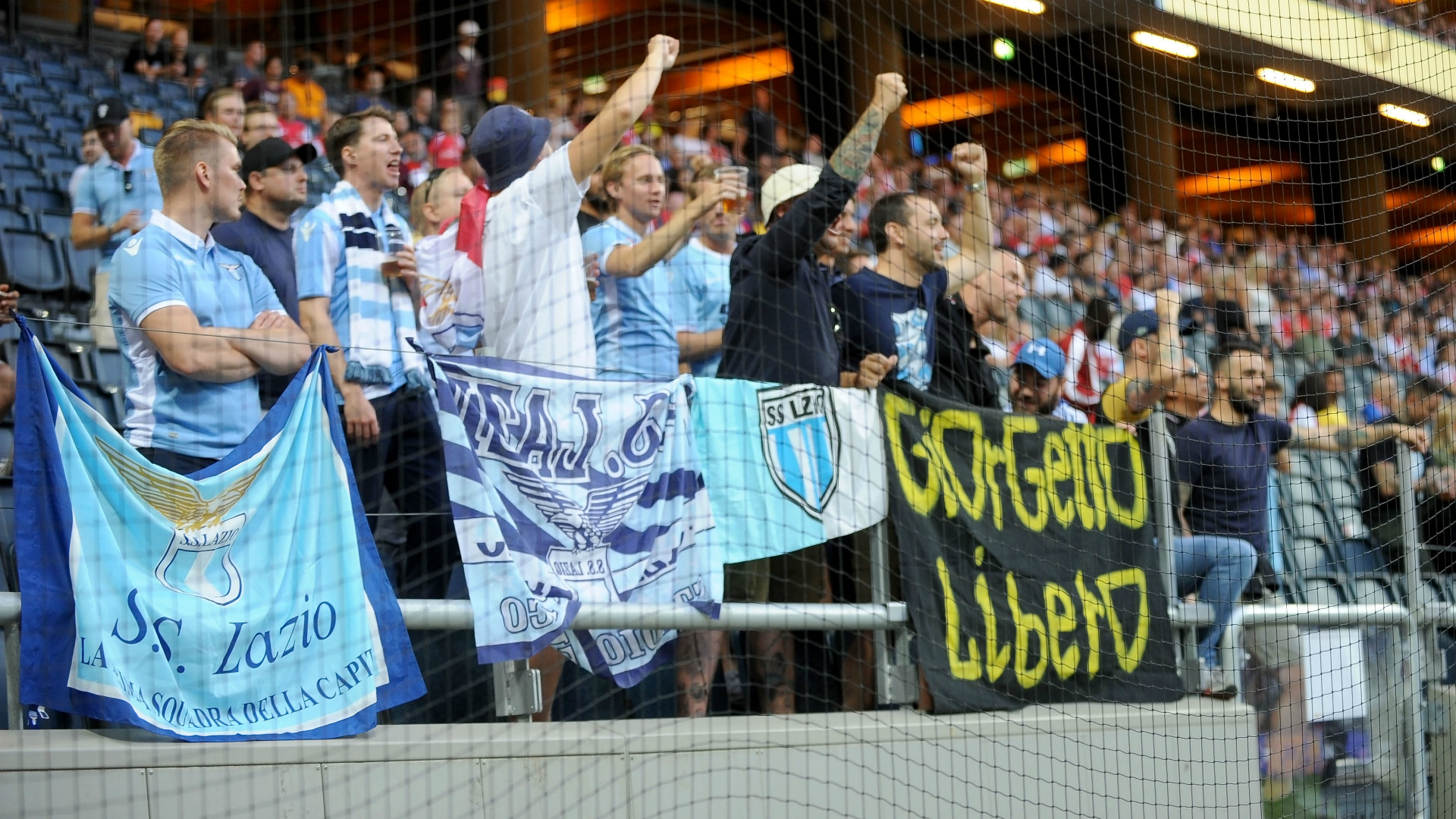Lazio fans tell women to stay away from stadium's 'sacred space'