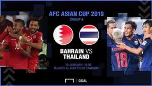 Preview AFC Asian Cup : บาห์เรน - ไทย