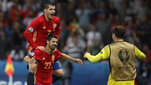 Alvaro Morata Nolito Spain Turkey
