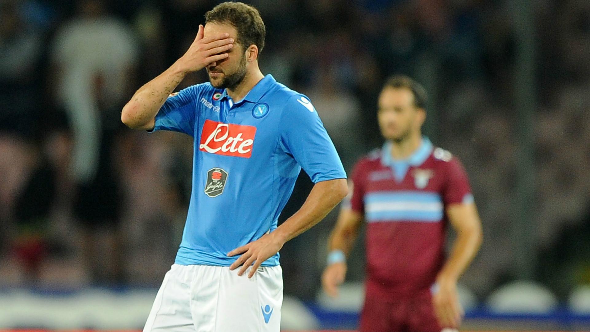 Gonzalo Higuain Napoli Lazio Serie A 2015