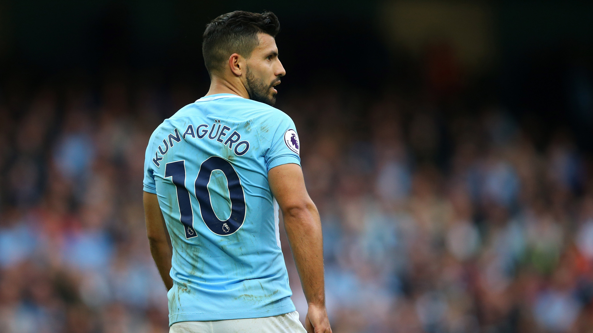 Manchester City Premier League Sergio Agüero 23092017