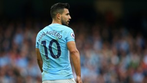 Manchester City Premier League Sergio Agüero 23092017