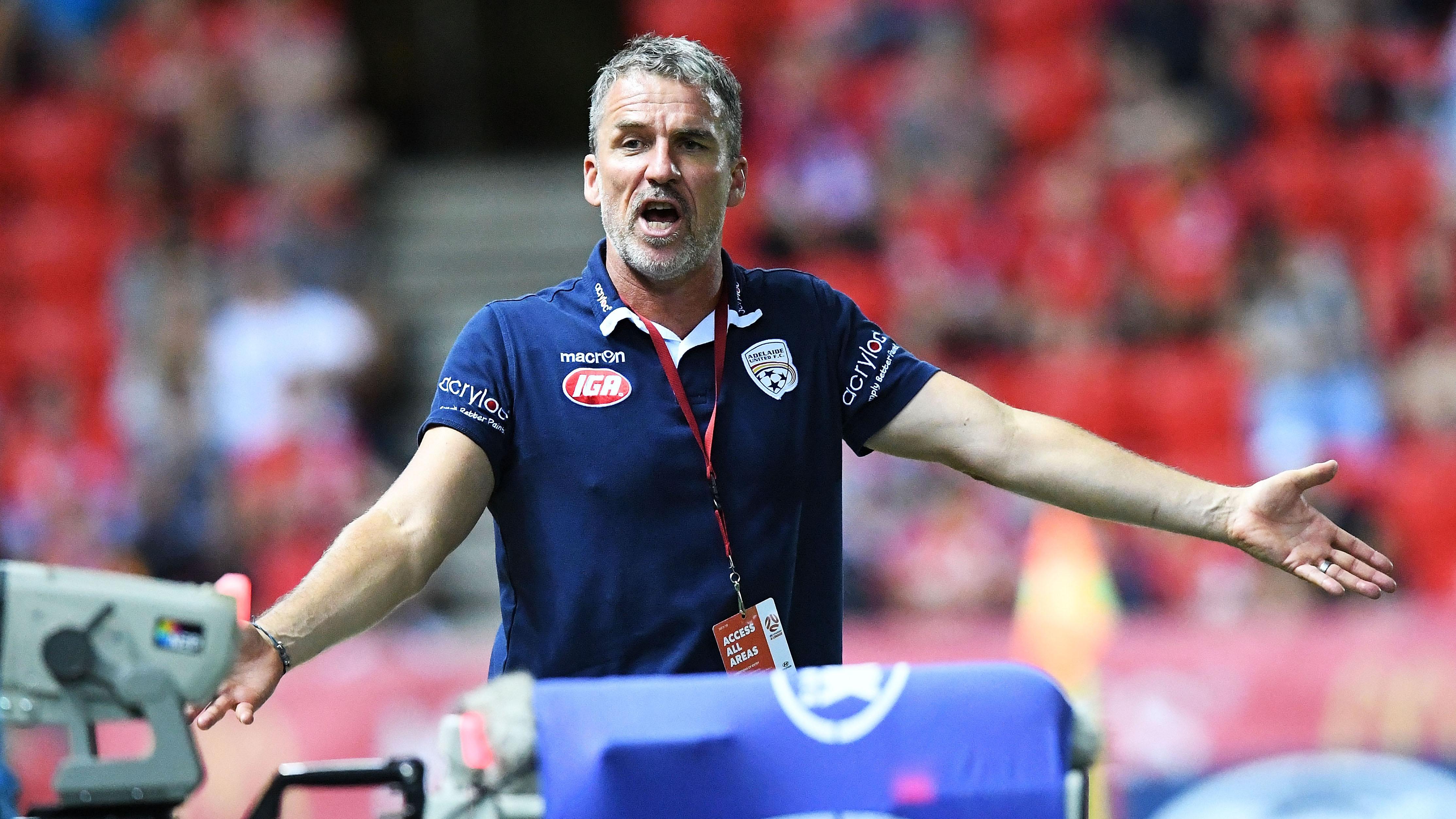 Marco Kurz Adelaide United