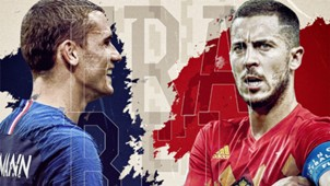GFX France Belgium World Cup 2018
