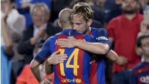 Ivan Rakitic Javier Mascherano Barcelona