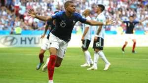 Kylian Mbappé France Argentina World Cup 30062018