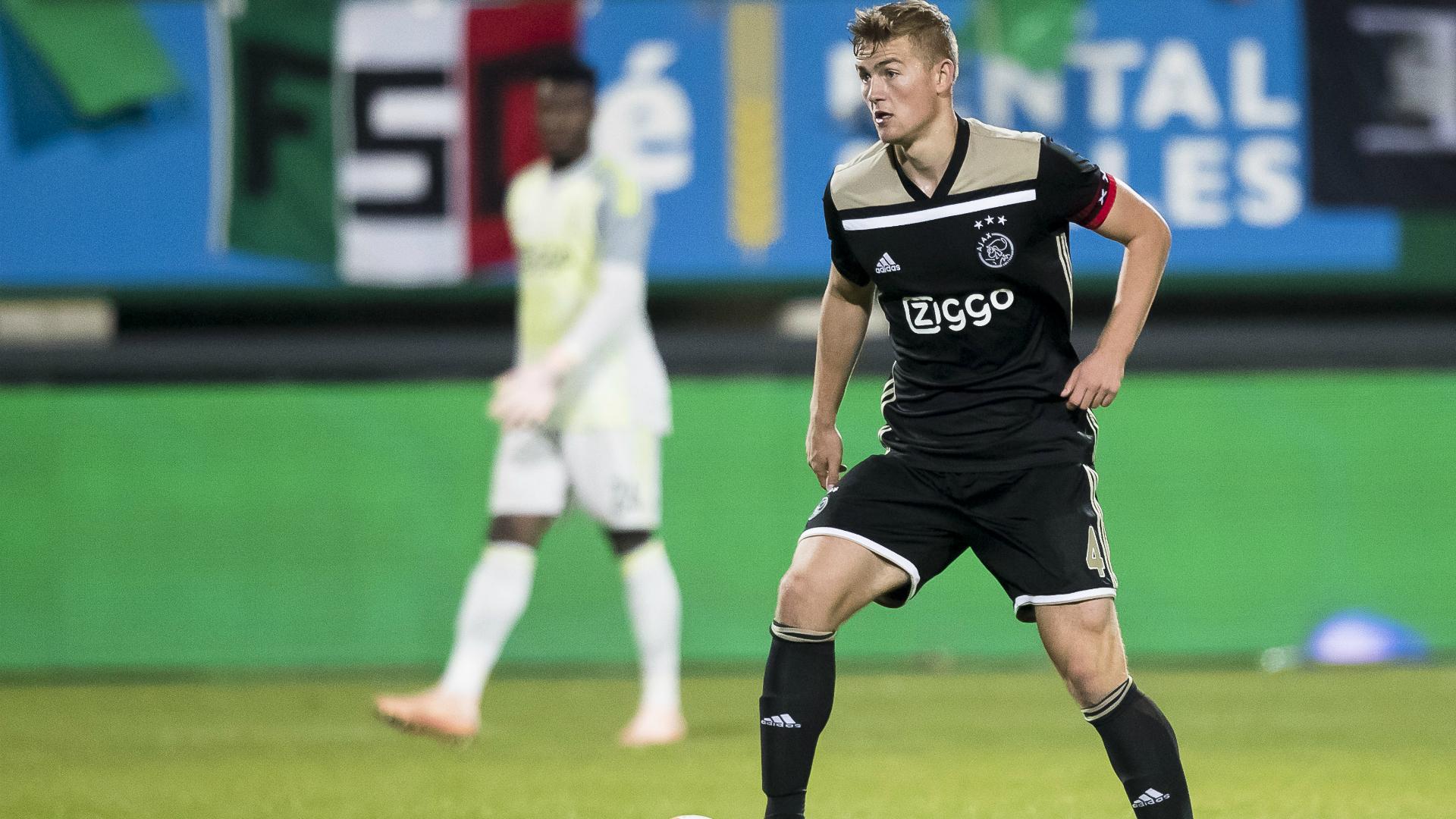 Matthijs de Ligt Ajax Eredivisie 09292018