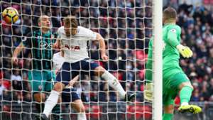 Harry Kane scoring Tottenham Southampton Premier League