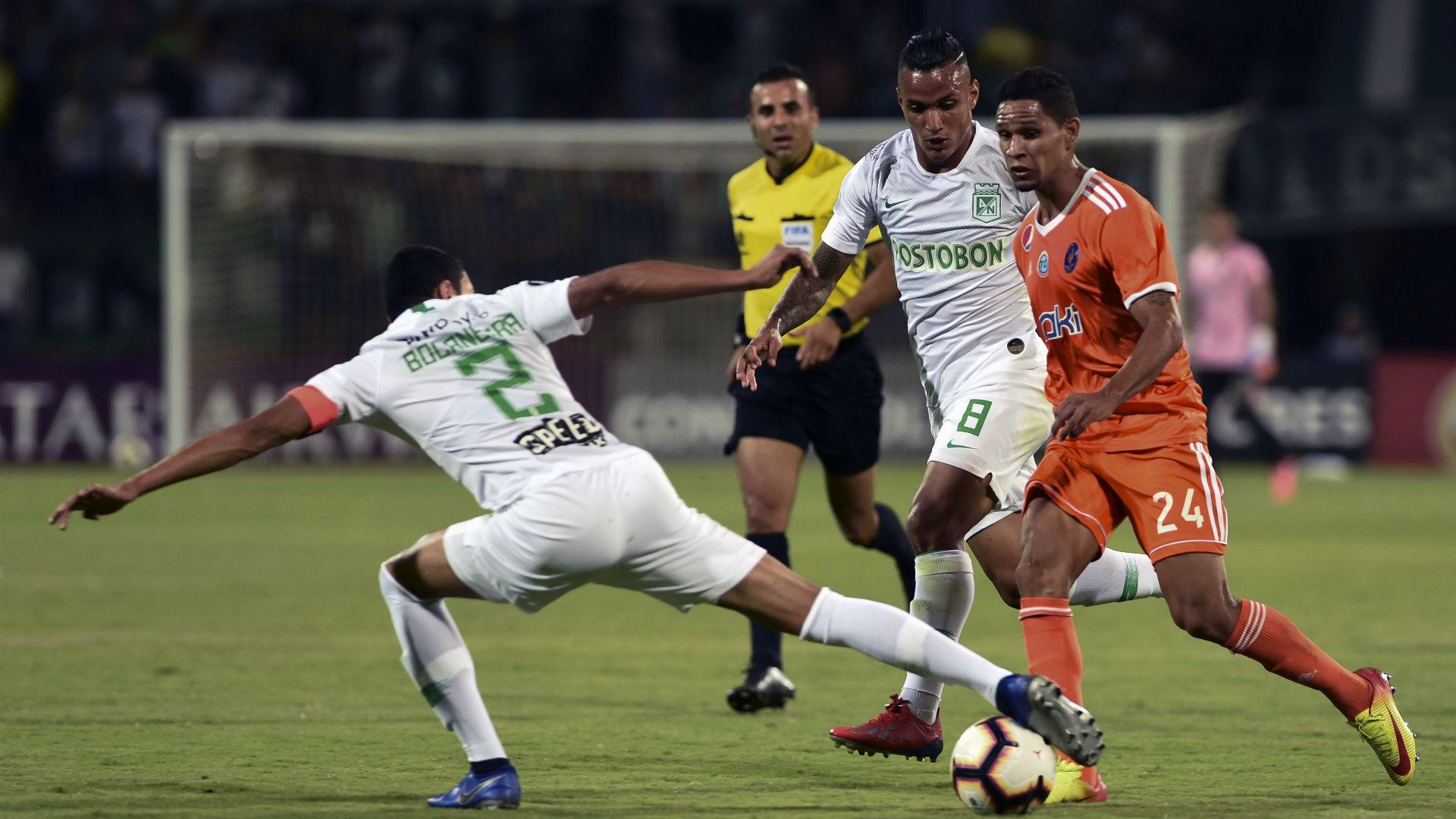 Atlético Nacional - Deportivo La Guaira Copa Libertadores 2019