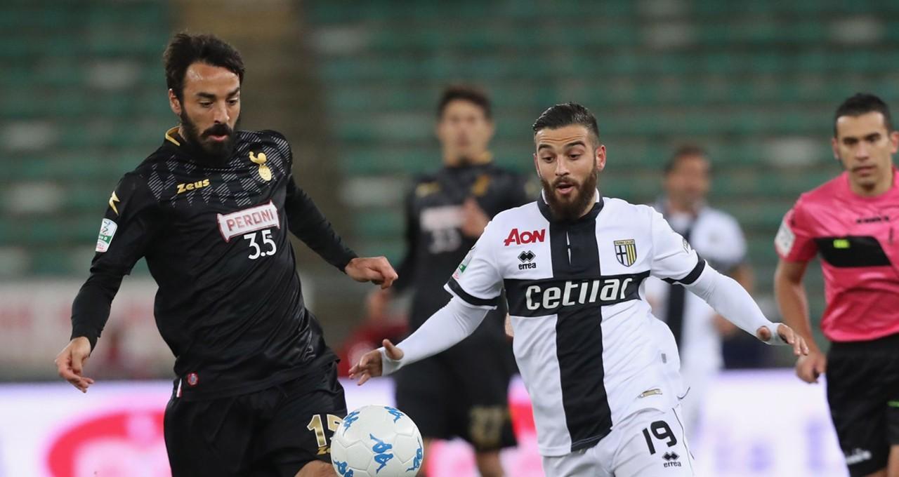 Mattia Cassani Roberto Insigne Bari Parma Serie B