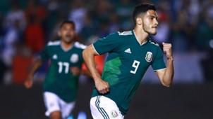 Raúl Jiménez Selección mexicana octubre 2018