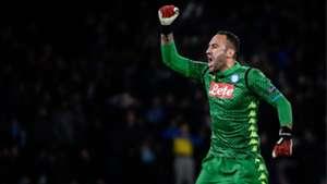 David Ospina Napoli Estrella Roja Champions League 2018