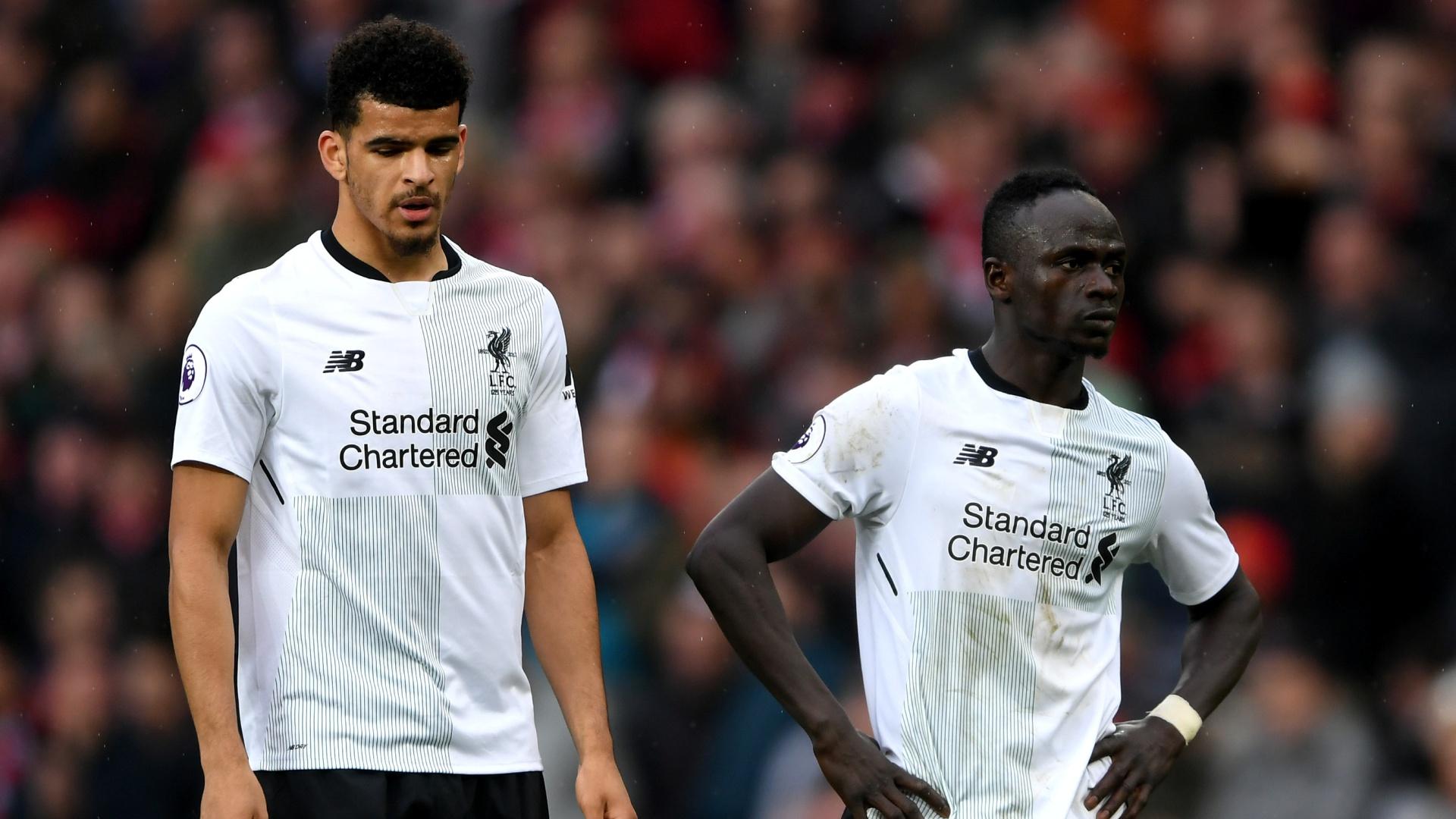 Dominic Solanke Sadio Mane Liverpool 2018-03-10
