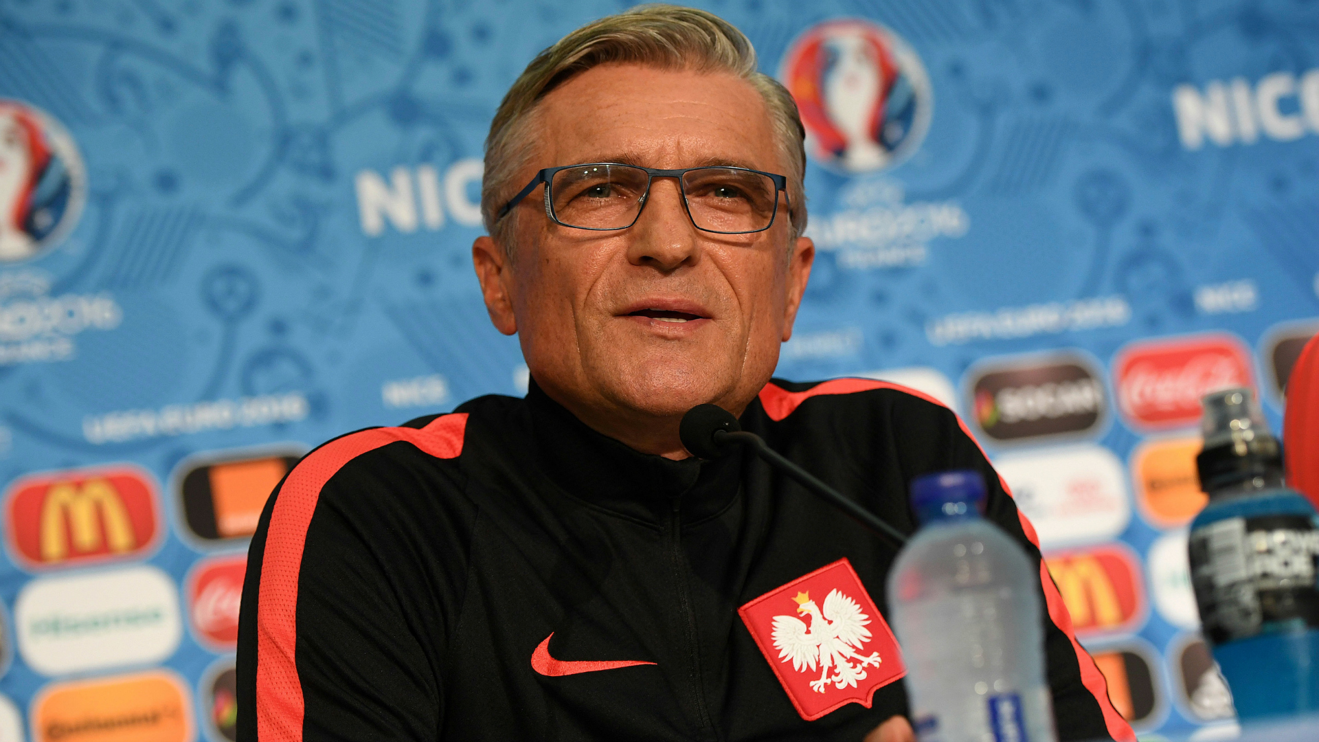 Adam Nawalka Poland Euro 2016 11062016