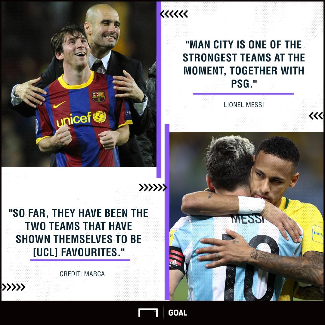 GFX Info Lionel Messi quote