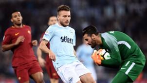 Ciro Immobile Alisson Lazio Roma Serie A