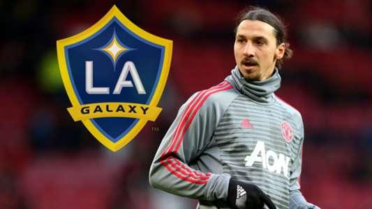 Zlatan Ibrahimovic LA Galaxy logo