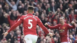 Marcos Rojo & Zlatan Ibrahimovic