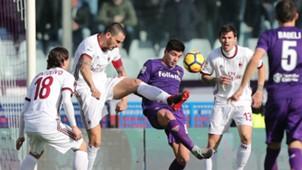 Leonardo Bonucci Giovanni Simeone Fiorentina Milan Serie A