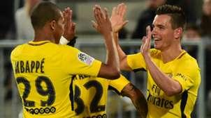 Kylian Mbappe Giovani Lo Celso Bordeaux PSG Ligue 1 22042018