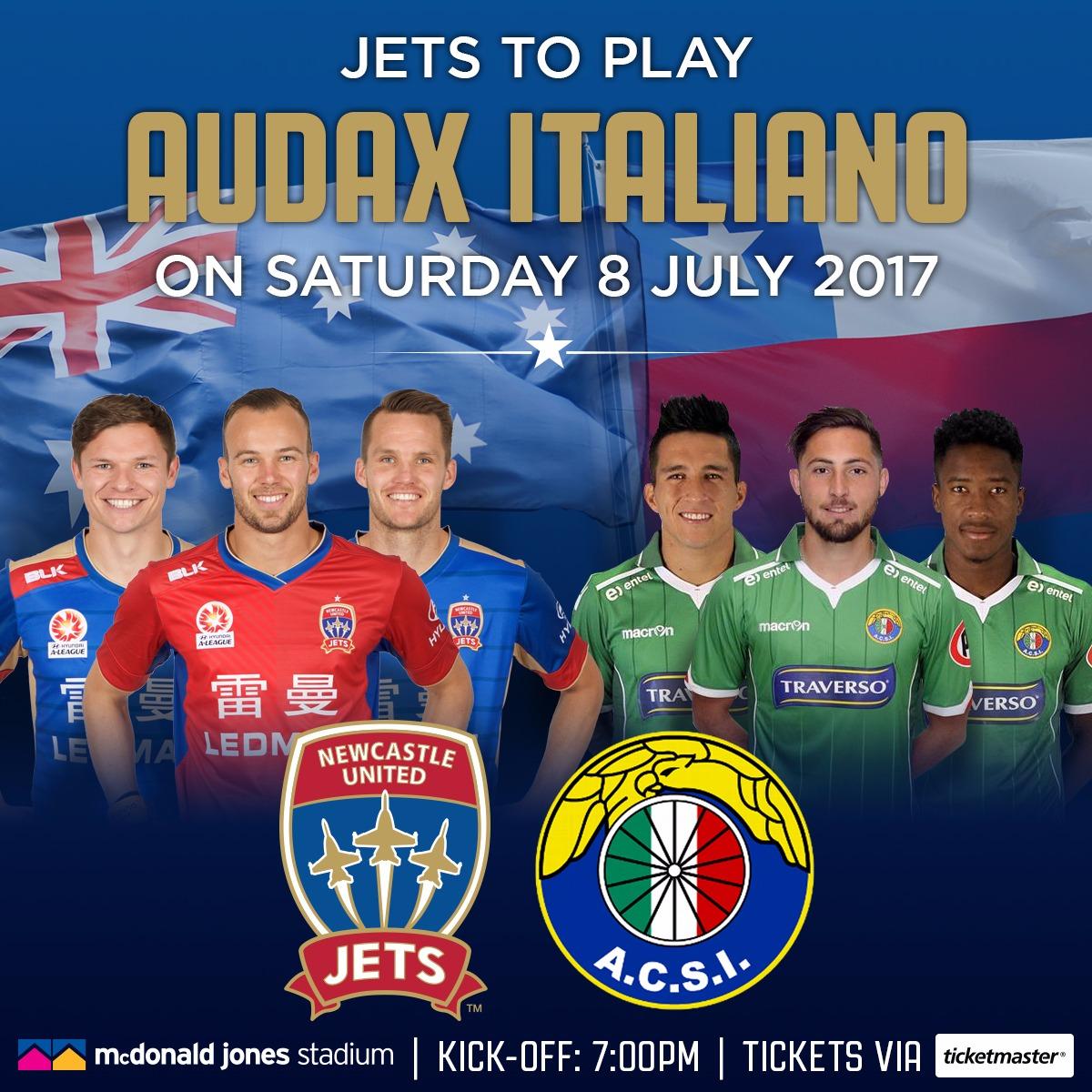 Audax Italiano Newcastle Jets friendly
