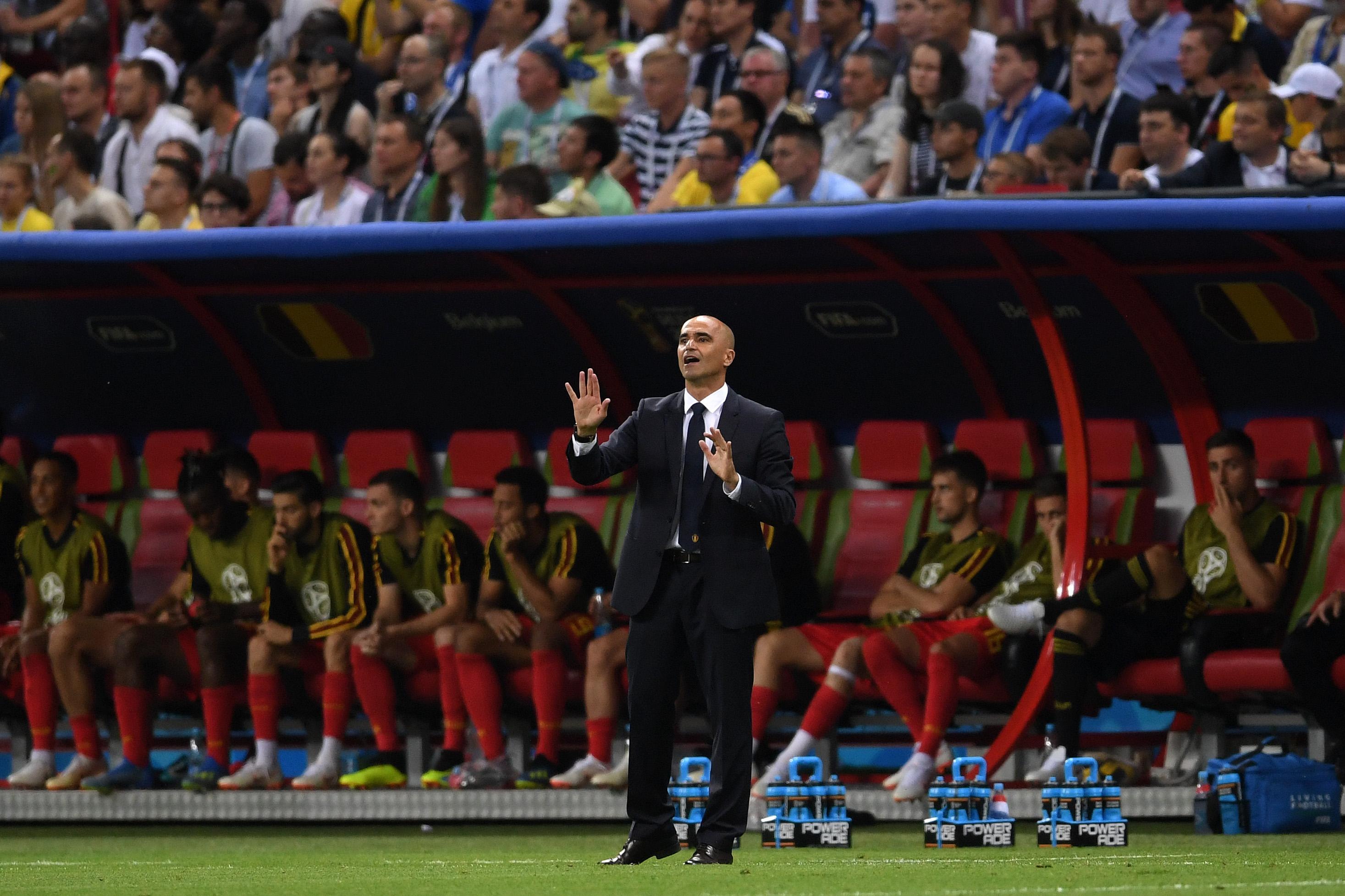 Roberto Martinez Brazil Belgium World Cup 07/06/18