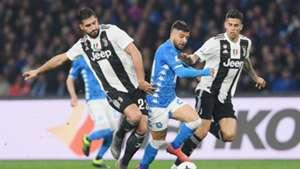 Emre Can Lorenzo Insigne Napoli Juventus